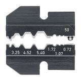 Плашка опрессовочная (насадки для обжимников) KNIPEX арт. 97 49 50