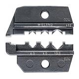 Плашка опрессовочная для штекеров Solar (Wieland) KNIPEX арт. 97 49 69 2