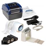 Профессиональный стационарный принтер Brady BBP12 с резаком и ПО WorkStation для маркировки кабеля
