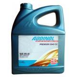 Моторное масло ADDINOL PREMIUM 0540 C3 5W-40 4л