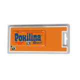 Клеющая двухкомпонентная эпоксидная масса POXILINA 70гр (блистер)