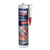 Герметик силиконовый TYTAN Professional высокотемпературный красный 310мл