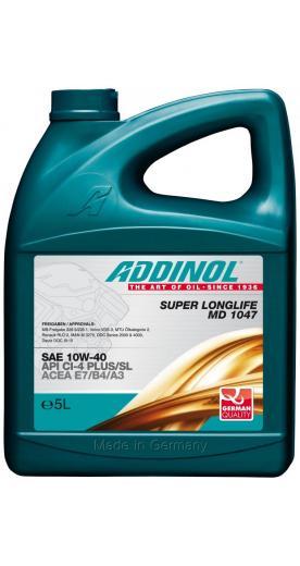 Моторное масло ADDINOL Super Longlife MD 1047 10W-40 5л