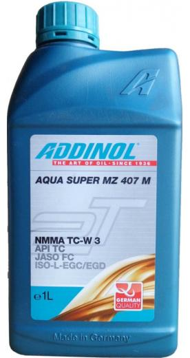 Моторное масло ADDINOL Aqua Super MZ 407 M 1л