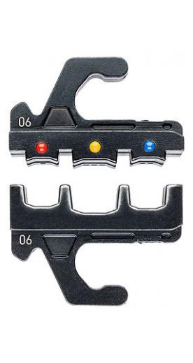 Насадка для обжимников KN-973906 (плашка опрессовочная) для наконечников кабельных изолированных KNIPEX арт. 97 39 06