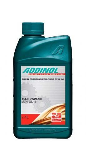 Трансмиссионное масло ADDINOL Multi Transmission Fluid 75W 90 1л